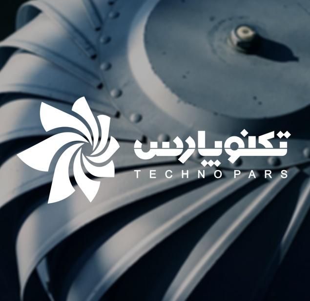 طراحی لوگو شرکت تکنو پارس