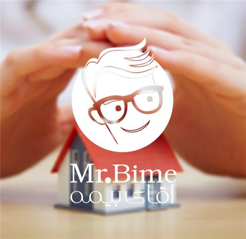 طراحی لوگو شرکت آقای بیمه (مستر بیمه)