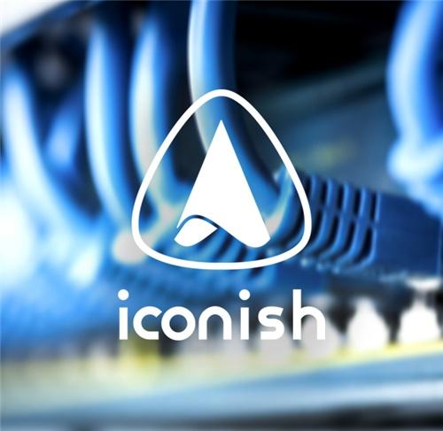طراحی لوگو شرکت آیکونیش