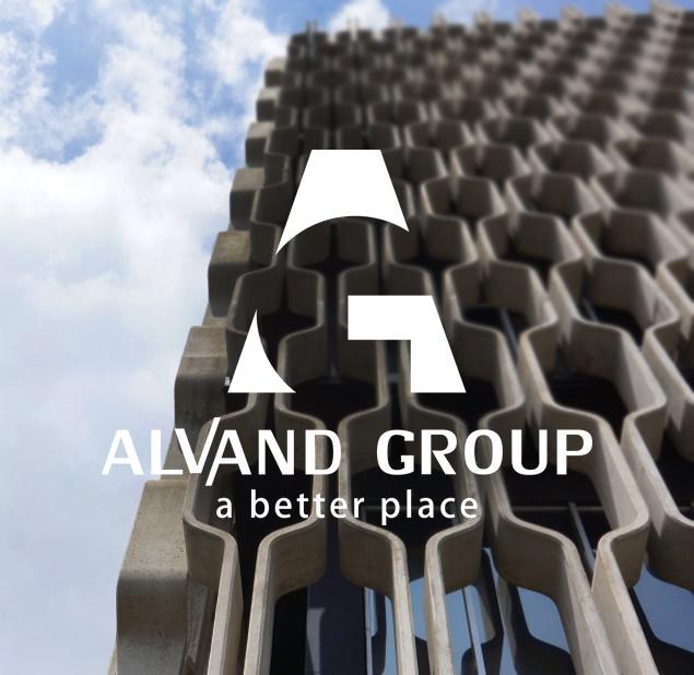 طراحی لوگو شرکت گروه الوند