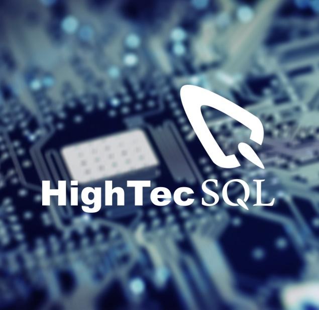 طراحی نشان شرکت فناوری اطلاعات HIGHTEC
