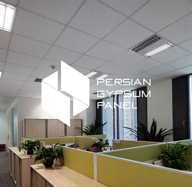 طراحی نشان شرکت پرشین جیپسوم پنل