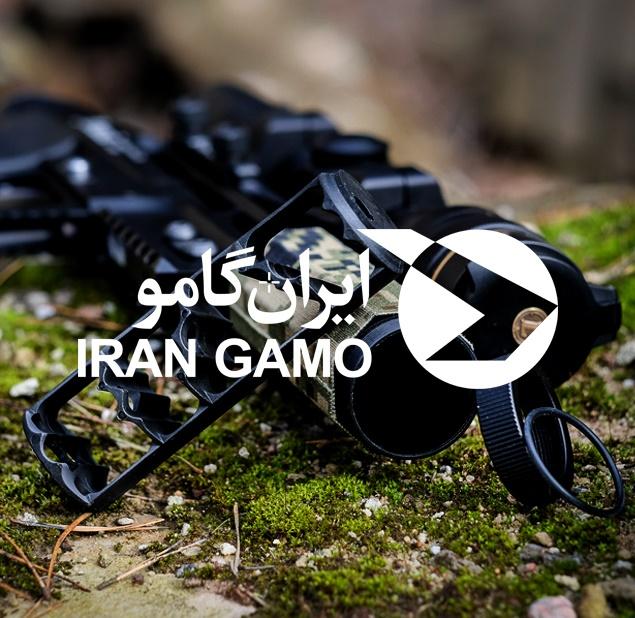 طراحی لوگو شرکت ایران گامو