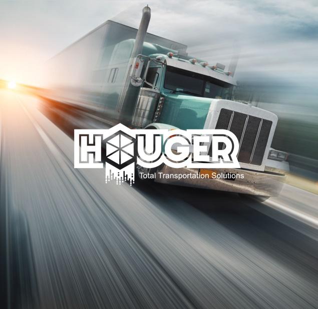 طراحی لوگو شرکت حمل و نقل هوگر