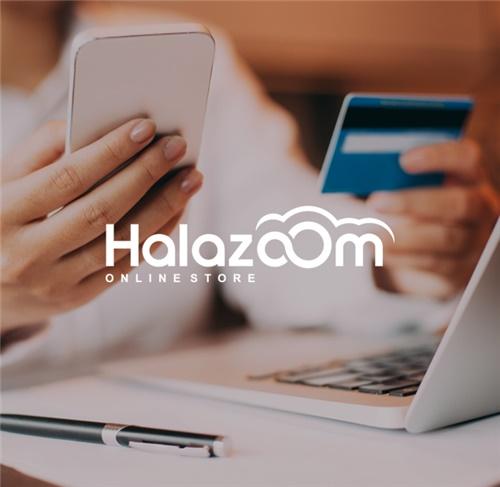طراحی لوگو شرکت حالازوم