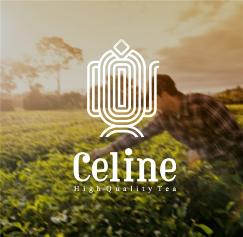 طراحی لوگو شرکت بسته بندی چای سلین