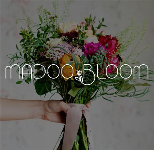 طراحی آرم فروشگاه مدوبلوم (MADOO BLOOM)