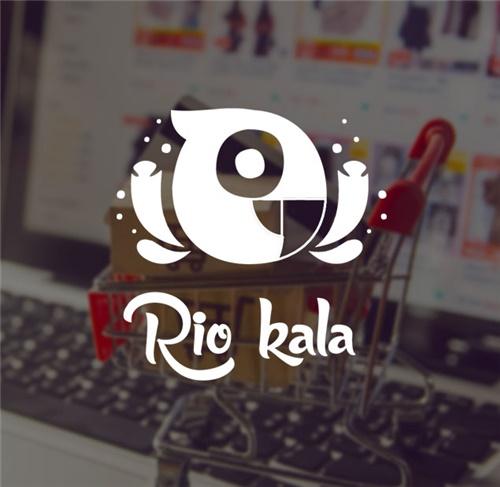 طراحی آرم فروشگاه آنلاین Rio Kala
