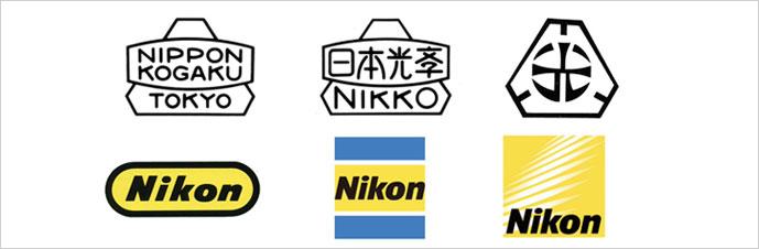 بررسی تاریخچه لوگوی Nikon