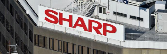 بررسی تاریخچه لوگوی Sharp