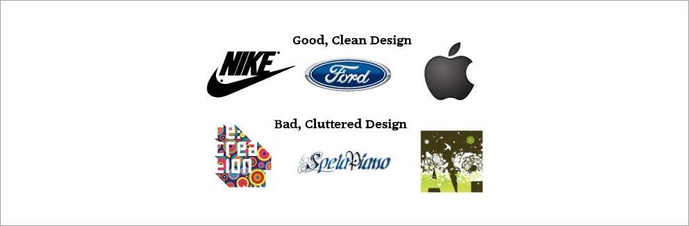 سادگی در طراحی لوگو