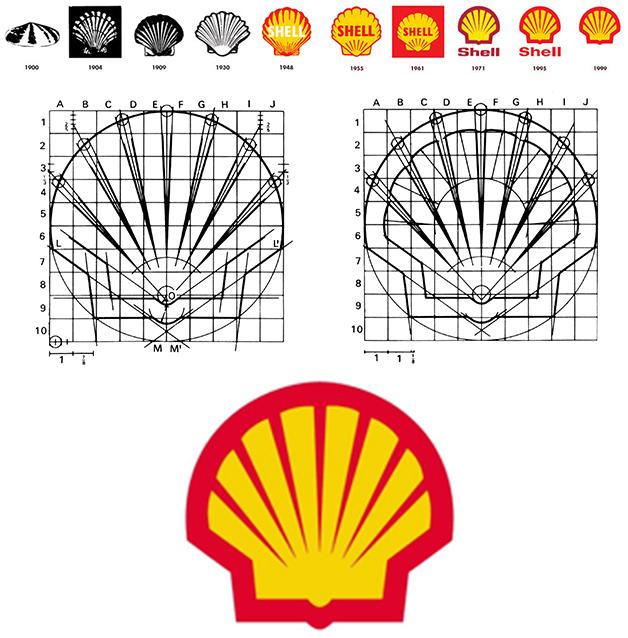 باید ها و نبایدها در استفاده از شبکه های لوگوریموند لاوی از یک ساختار راهنمایی جهت طراحی لوگوی Shell oil استفاده کرد،طراحی به یادماندنی که از سال 1971 میلادی تغییز چندانی به ...