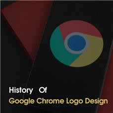 تاریخچه لوگوی google chrome
