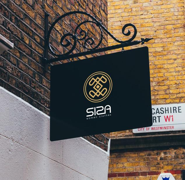 طراحی نشان فروشگاه البسه بانوان سیزا