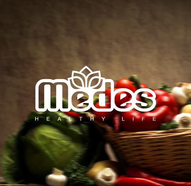 طراحی لوگو تجارت مواد غذایی مدس