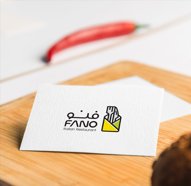 طراحی نشان رستوران فنو