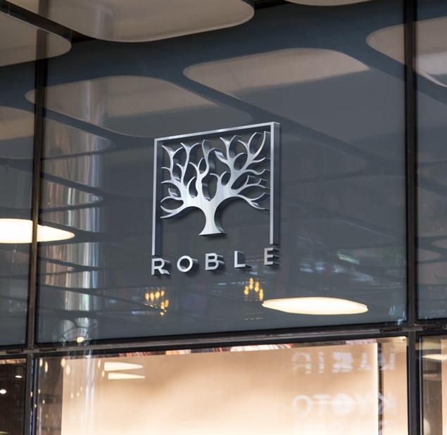 طراحی لوگو رستوران روبل