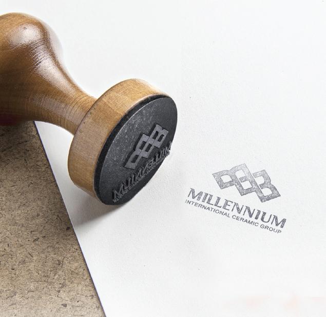 طراحی آرم شرکت میلینیوم