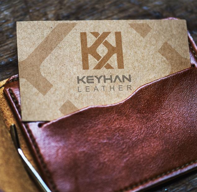 طراحی لوگوی شرکت چرم کیهان