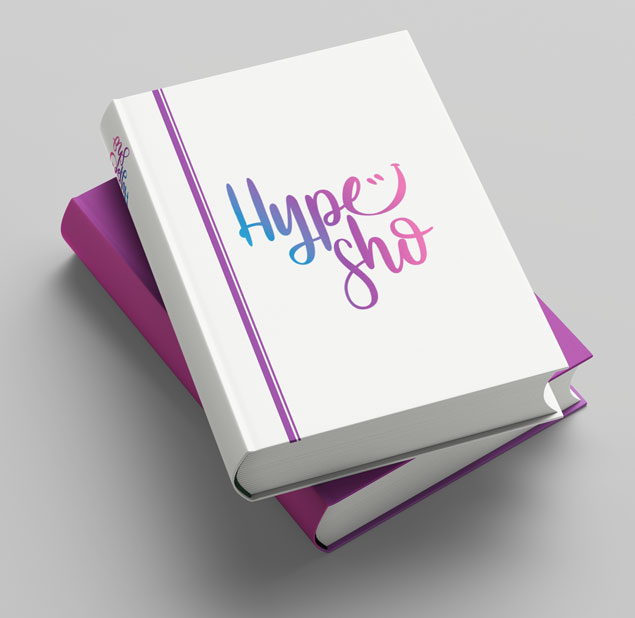 طراحی نشان اپلیکیشن انگیزشی Hypesho
