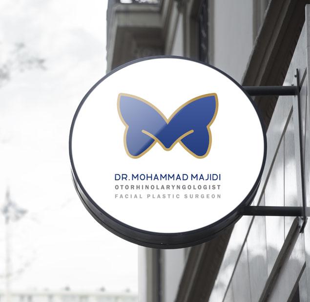 طراحی نشان شخصی دکتر محمد مجیدی