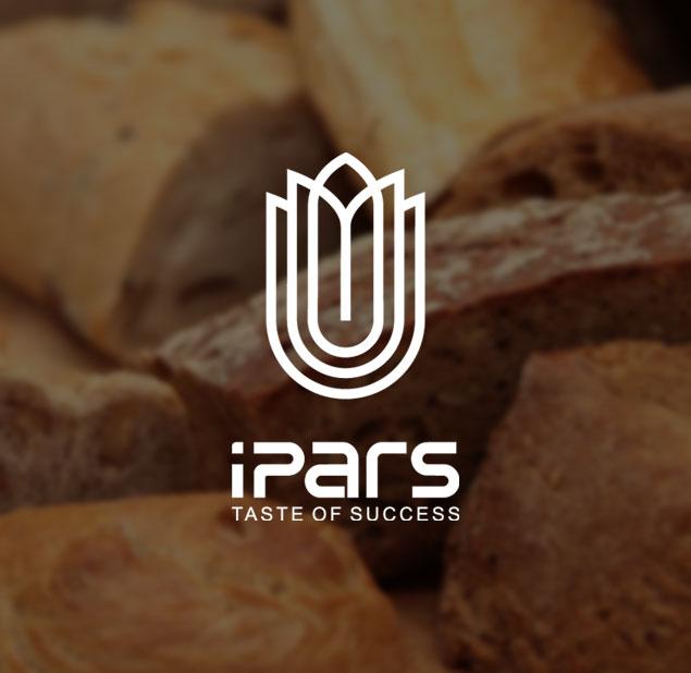 طراحی آرم شرکت ساخت دستگاه های تولید نان و شربت آی پارس
