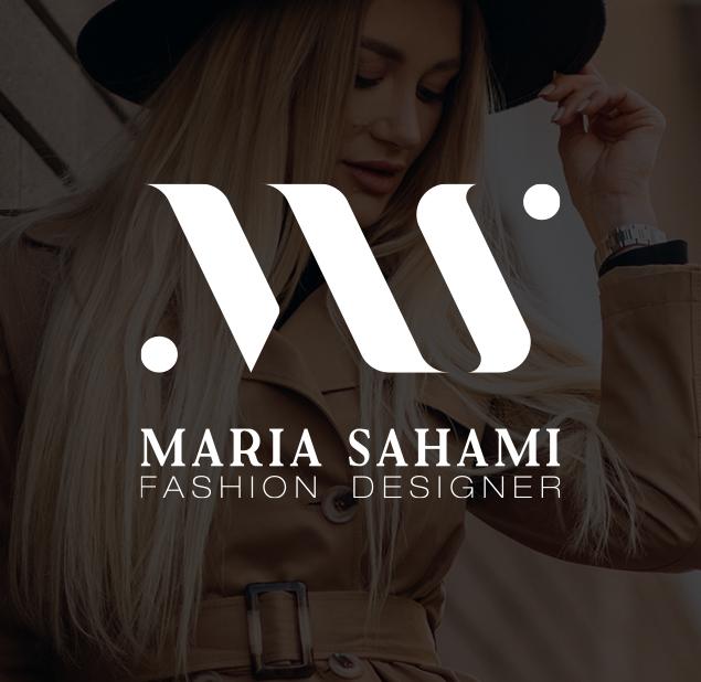 طراحی آرم شرکت طراحی مد ماریا سهامی