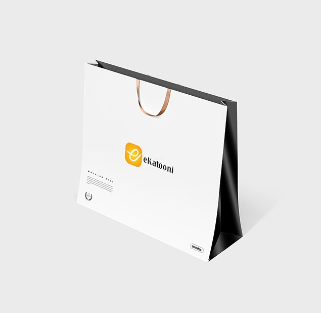 طراحی آرم اپلیکیشن فروش آنلاین کتونی