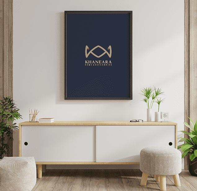 طراحی آرم مجموعه خانه آؤا