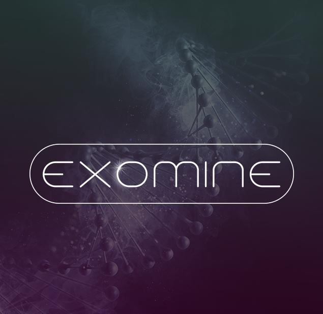 طراحی آرم مجموعه exomine