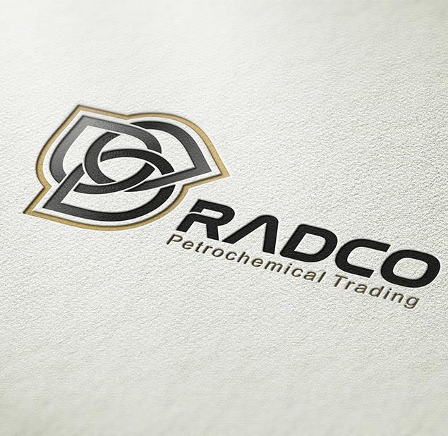 طراحی آرم مجموعه radco
