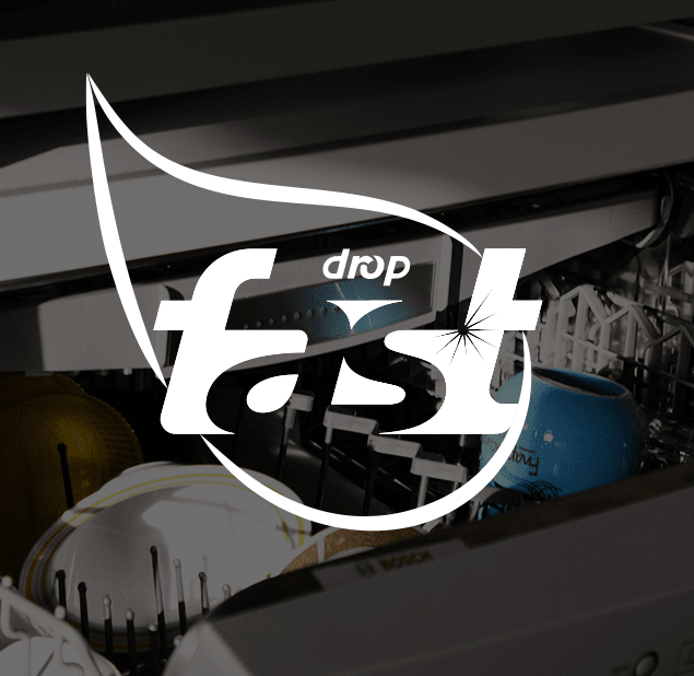 طراحی آرم مجموعه fast drop