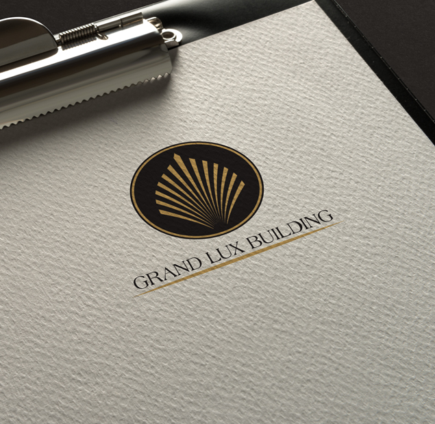 طراحی نشان شرکت گرند لوکس بیلدینگ
