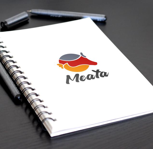 طراحی نشان شرکت میتا پروتئین