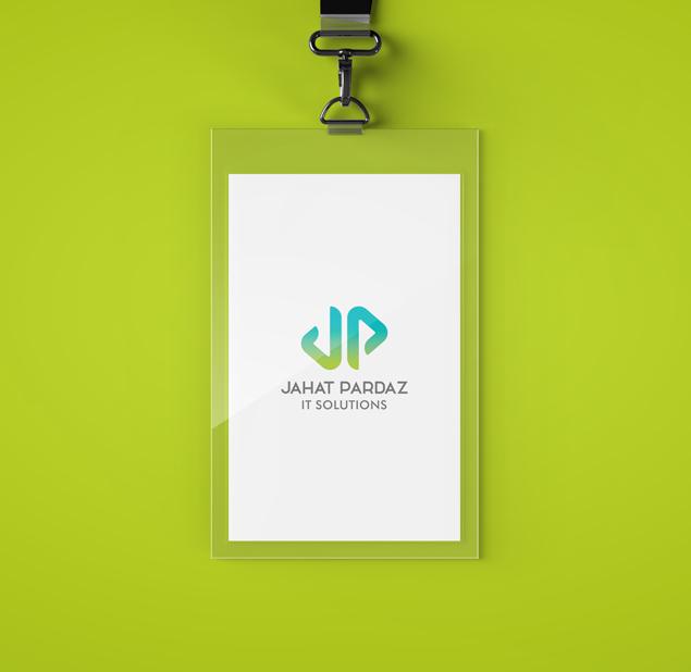 طراحی لوگو شرکت تولید نرم افزار جهت پرداز