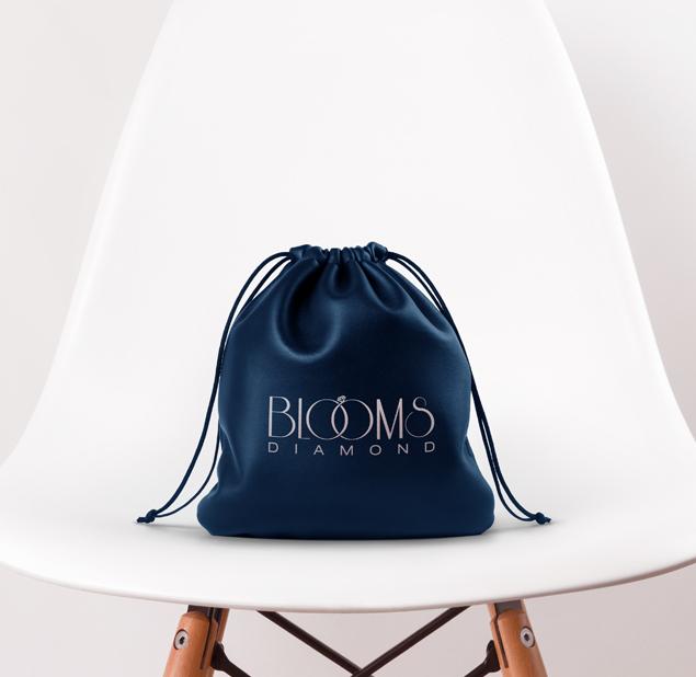 طراحی لوگو مجموعه (Blooms) بلومز