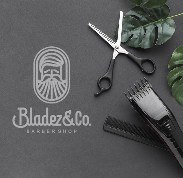 طراحی لوگو شرکت Bladez & co