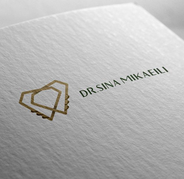 طراحی آرم  کلینیک دکتر سینا میکائیلی