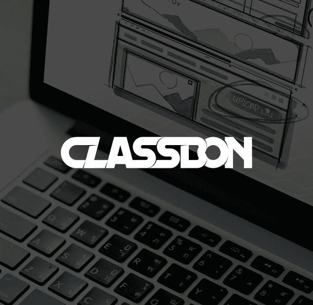 طراحی آرم مجموعه کلاس بن