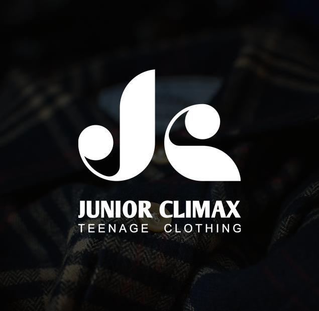 طراحی آرم مجموعه junior climax