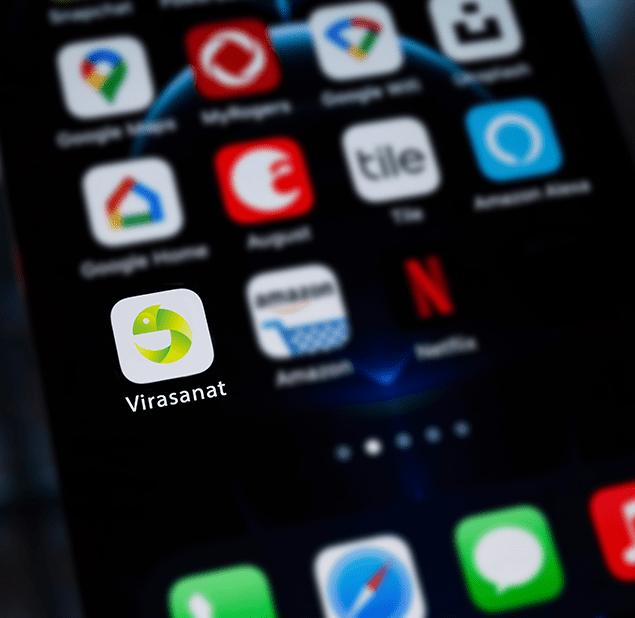 طراحی آرم مجموعه  virasanat